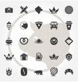 Retro Hand Drawn Logos Design Elements Logos vector image vector image