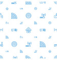 wifi icons pattern seamless white background vector image vector image