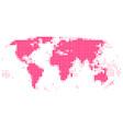 worldmap vector image