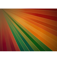 rainbow corrugated cardboard background vector image