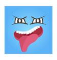 aversion smiley face icon vector image vector image