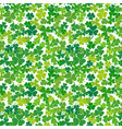 Clover or shamrock seamless pattern vector image