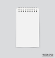 Collection of white note papers ready for your vector image