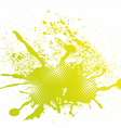 Colorful abstract splash vector image vector image