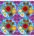 Colorful floral pattern for textile Digital vector image vector image