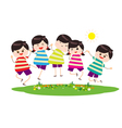 Happy Children vector image