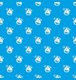 perfume bottle spray pattern seamless blue vector image