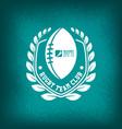 rugteam club logo sport vector image vector image