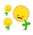 Sunflower 004 vector image