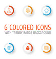 web icons set collection of storage account vector image