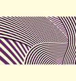 abstract curve stripe pattern vector image