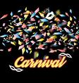 bright colorful a carnival background vector image vector image