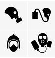 Gas masks vector image vector image