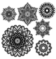 lace round 10 380 vector image vector image