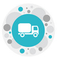 of shipment symbol on shipping vector image vector image