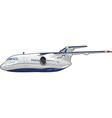 passenger aircraft vector image vector image