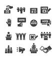 democracy icon vector image