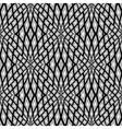 Design monochrome seamless mosaic pattern vector image vector image