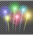 Fireworks festival colorful firework llustration