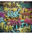 Graffiti grunge background vector image vector image