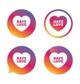Safe love sign icon Safe sex symbol vector image vector image