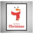 Snowman card with frame