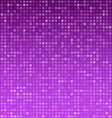 Squares purple technology pattern vector image vector image