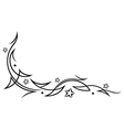 Tribal tattoo stars vector image vector image