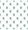 cinema director chair pattern vector image vector image