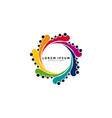 colorful tentacles logo design modern templates vector image vector image