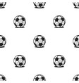 football balls sports seamless pattern modern vector image vector image