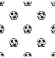 football balls sports seamless pattern modern vector image
