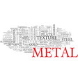 metal word cloud concept vector image vector image