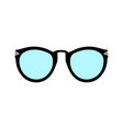 sunglasses icon flat design style vector image vector image