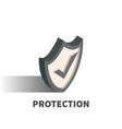 protection icon symbol vector image
