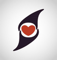 Abstract Love Heart Logo vector image