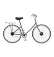 bicycle for kids isolated on a white background vector image vector image
