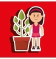 character pot plant