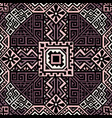creative ethnic style seamless pattern vector image vector image