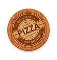 pizza restaurant logo vector image vector image
