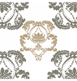 Royal ornament pattern in Victorian style vector image vector image