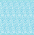sea pebbles seamless pattern marine abstract vector image