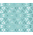 Snowflake pattern design vector image vector image