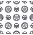steering wheels hearts seamless pattern background vector image vector image