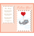 The card for Valentine Day vector image