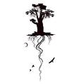 oak vector image
