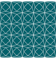 green teal geometric paper pattern seamless vector image vector image