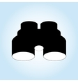 Binoculars icon design vector image