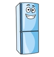 Fridge-freezer or refrigerator kitchen appliance vector image