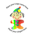 logo for toy shop 2 vector image
